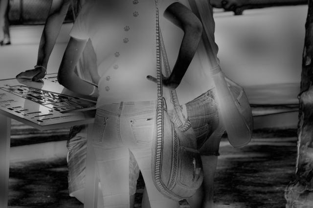 mies-vandenbergh-fotografie jeans hintern catwalk