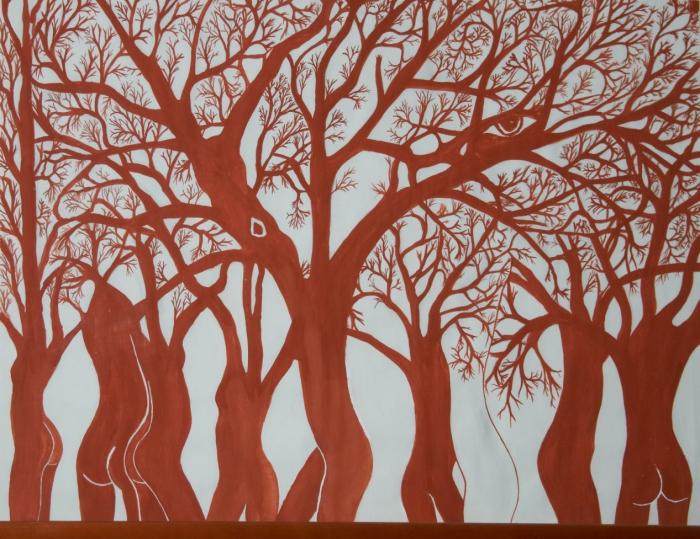 mies-vandenbergh-fotografie Gemälde Gruppe Körper
