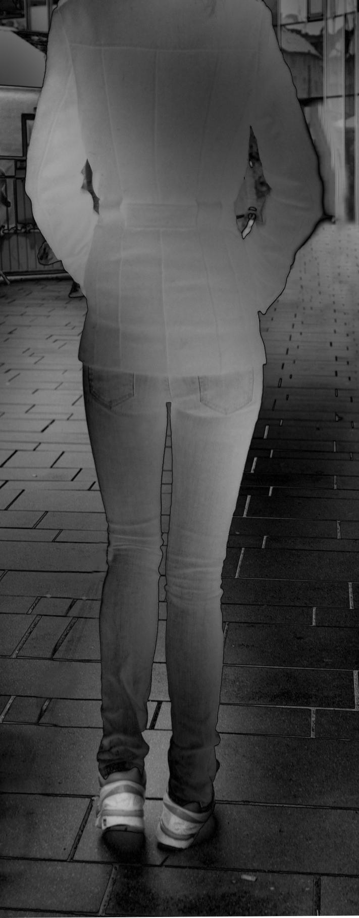 roll jeans hintern Mies Vandenbergh Fotografie
