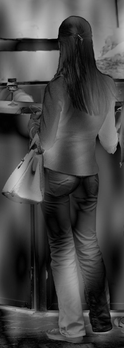 Stand jeans hintern Mies Vandenbergh Fotografie