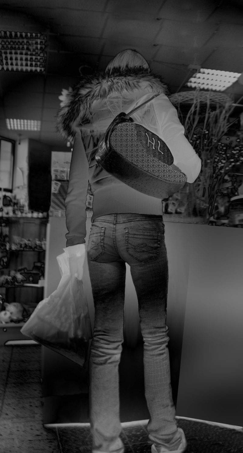 tin jeans hintern Mies Vandenbergh Fotografie