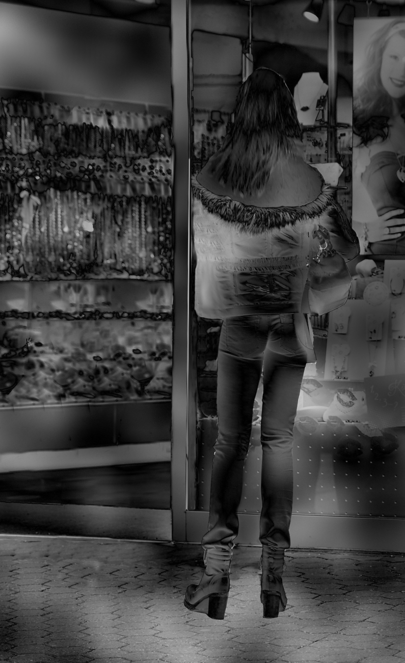 wish jeans hintern Mies Vandenbergh Fotografie