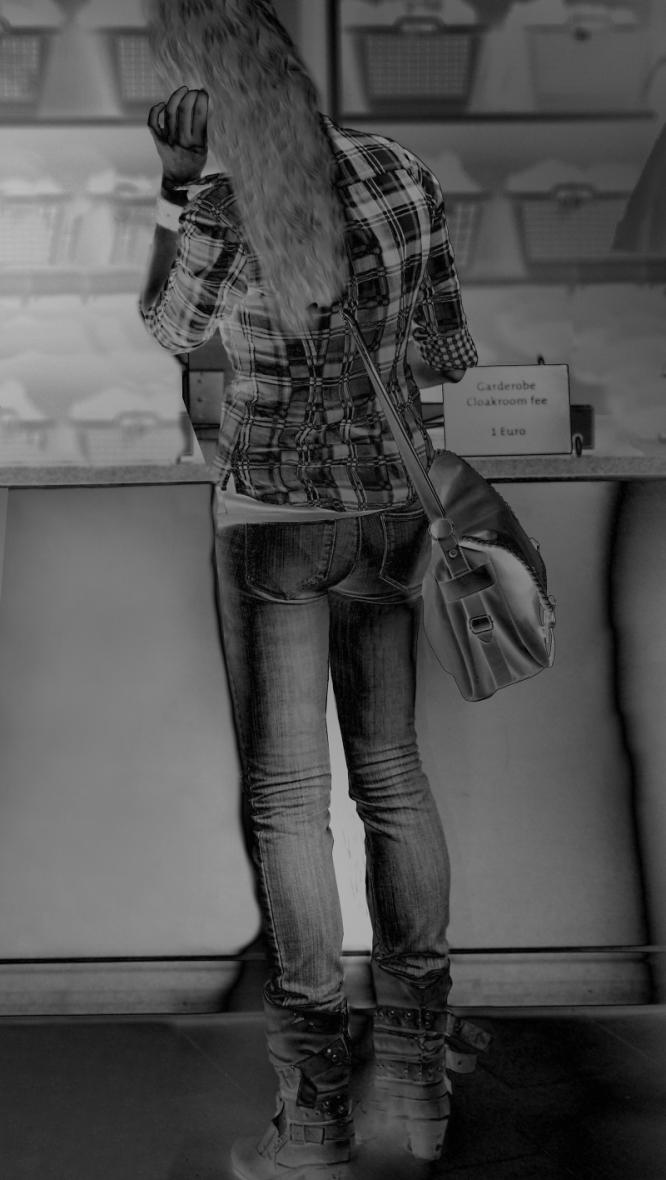 scal jeans hintern    Mies Vandenbergh Fotografie