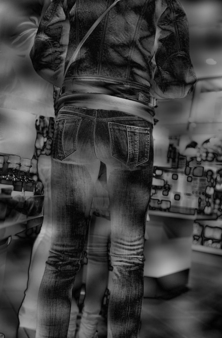 slad jeans hintern Mies Vandenbergh Fotografie
