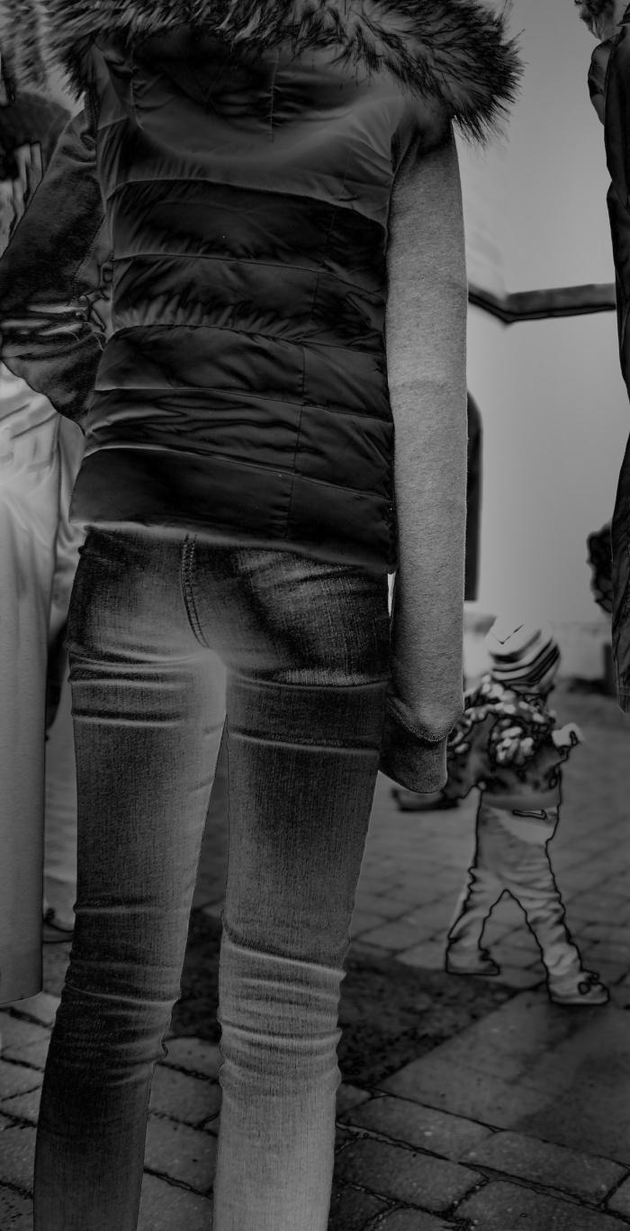 Mies-Vandenbergh-Fotografie  trar jeans hintern