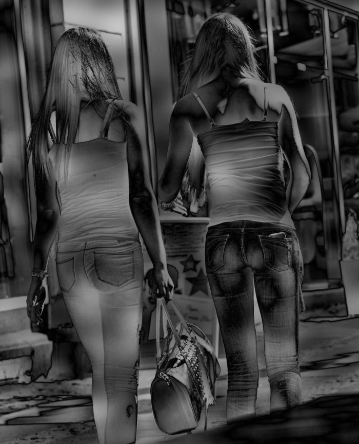 daan jeans hintern Mies Vandenbergh Fotografie