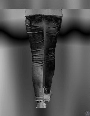 Schönheit Fotografie Hintern Jeans